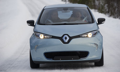 Renault Zoe Cold Weather