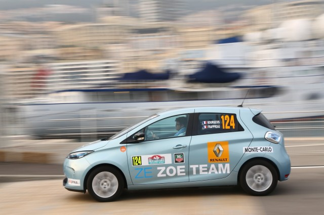 Renault Zoe on the ZENN rally