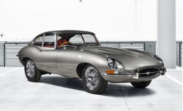 Restored Jaguar E-Type from Jaguar Classic's Reborn program