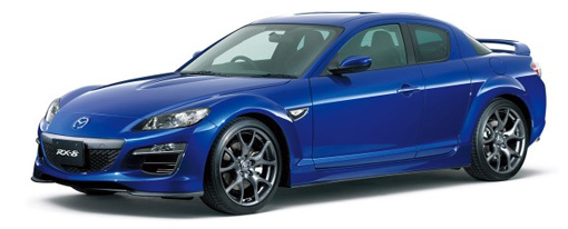 Revealed: 2009 Mazda RX-8 facelift