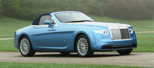 Revealed: Pininfarina-designed 'Hyperion' Rolls Royce
