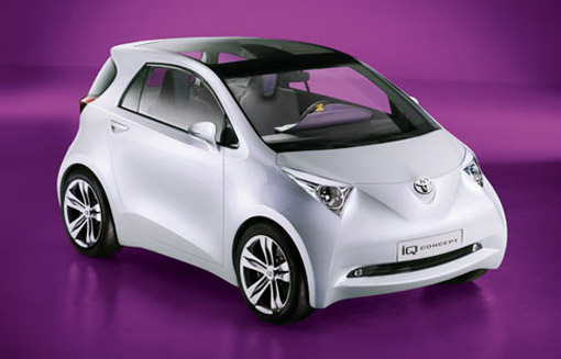 Revealed: Toyota iQ minicar concept