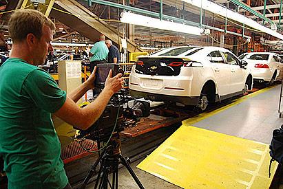 'Revenge of the Electric Car' movie: 2011 Chevrolet Volt production