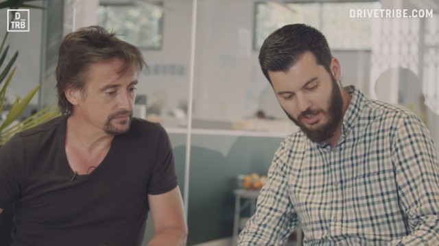 Richard Hammond and Mate Rimac