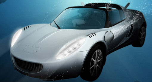 Rinspeed sQuba diving car concept