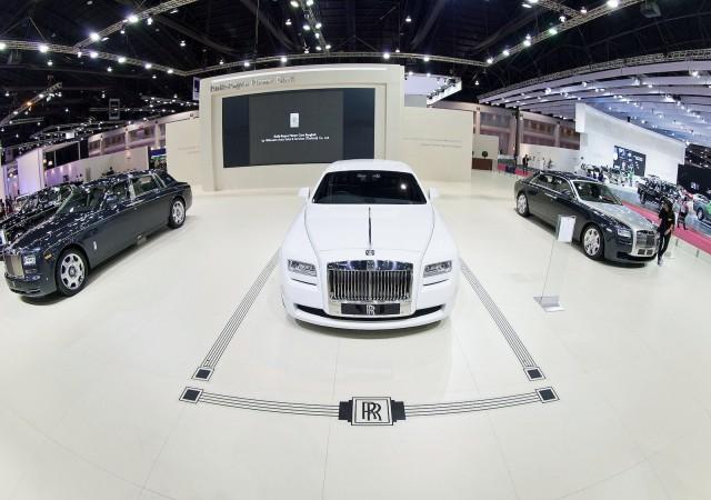 Rolls-Royce Bespoke Art Deco Collection Ghost