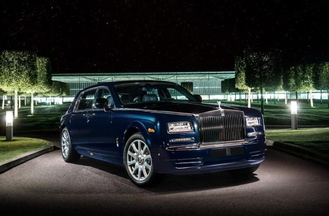Rolls-Royce Bespoke Celestial Phantom, 2013 Dubai Motor Show