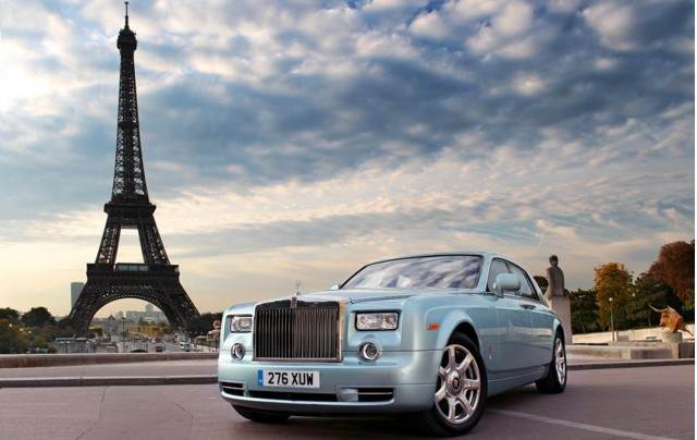 Rolls Royce Phantom 102EX World Tour