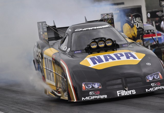 Ron Capps burnout - Anne Proffit photo