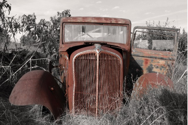 Rusty car (Image: Flickr user Another Seb)