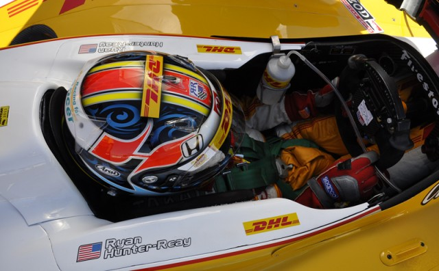 Ryan Hunter-Reay - Anne Proffit photo