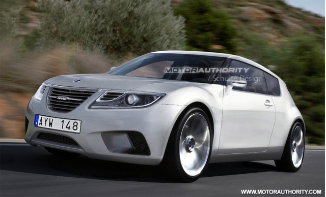 SAAB 9-1 preview rendering