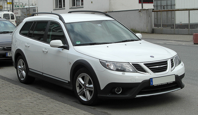 Saab 9-3X by Flickr user M 93