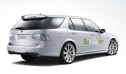 Saab's BioPower 100 Concept