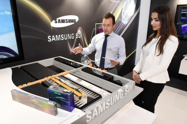 Samsung multifunctional battery technology