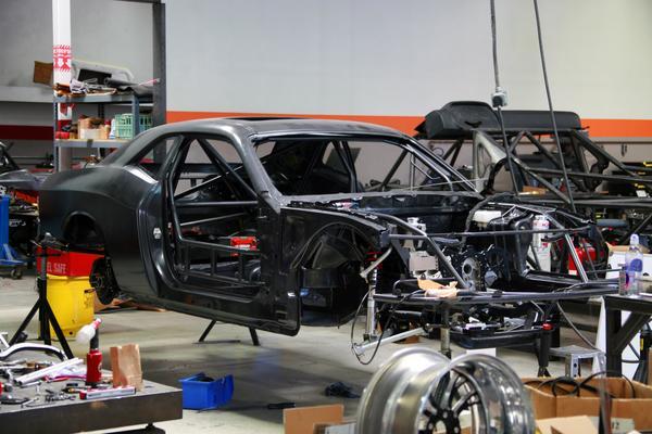 Samuel Hubinette S 2010 Dodge Challenger Formula Drift Car