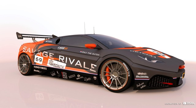 Savage Rivale GTR race car