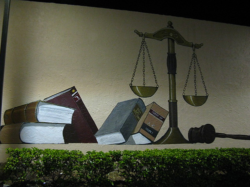 Scales of Justice. Image: Clyde Robinson