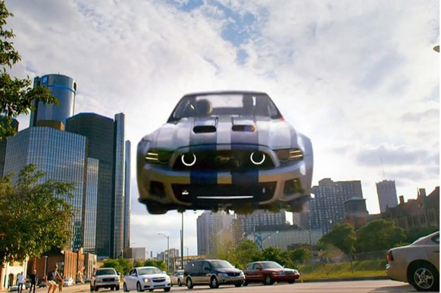 Scene from Need For Speed movie
