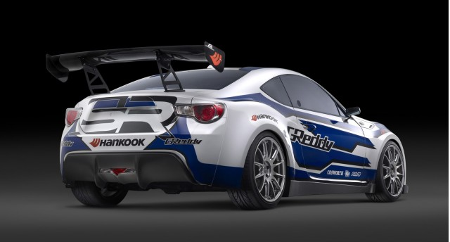 GReddy and Scion Racing FR-S drift car