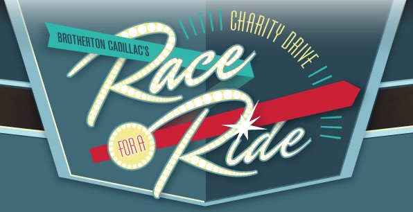Screencap from Brotherton Cadillac's Race for a Ride contest