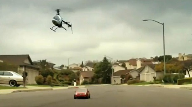 Screencap from Canadian commercial for the Nissan Sentra SE-R