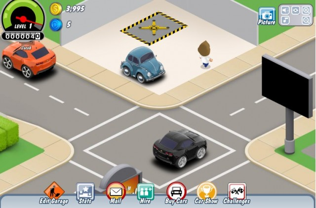 Screencap from Car Town