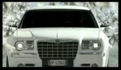Screencap from Chrysler 300 spot