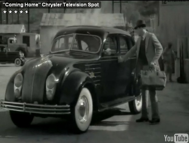 Screencap from Chrysler's 'Coming Home' campaign