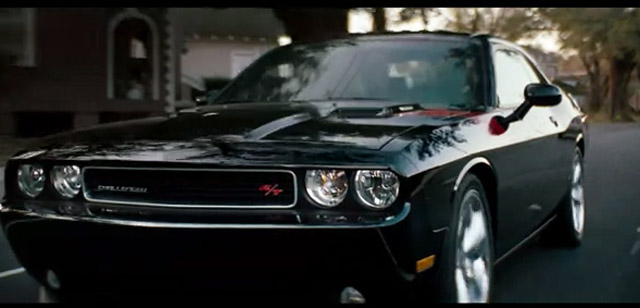 Screencap from Dodge Shaun in the Challenger commerical