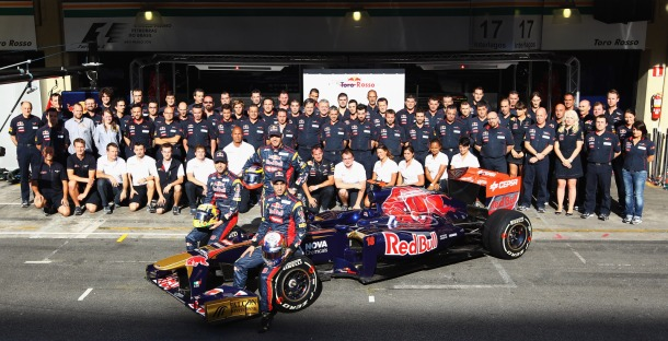 Scuderia Toro Rosso at the 2011 Brazilian GP