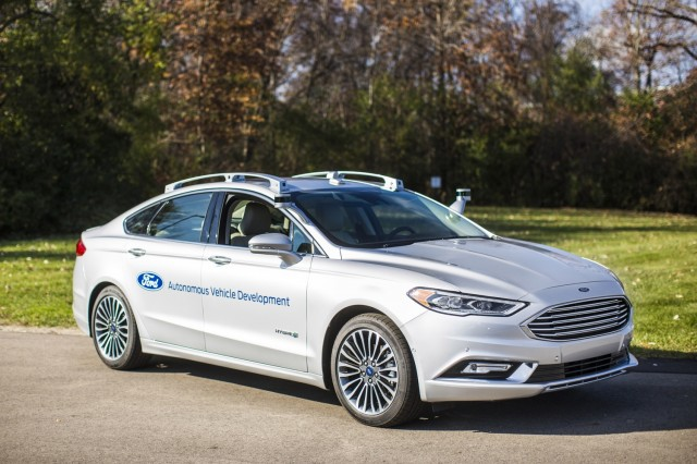 Second-generation Ford Fusion Hybrid automated driving research vehicle