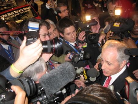 Senator Bob Corker in Detroit