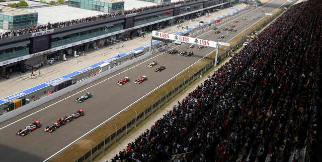 Shanghai International Circuit, home of the Formula One Chinese Grand Prix