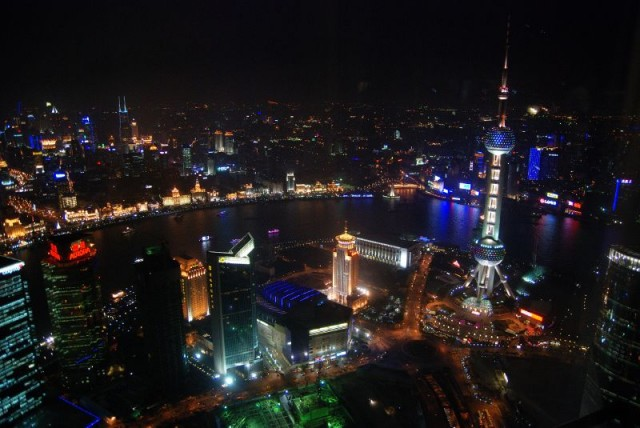 Shanghai skyline [photo by Ed-meister]