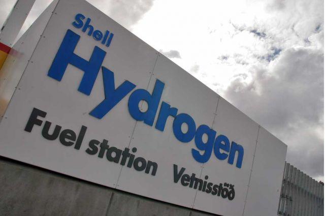 Shell Hydrogen Station in Reykjavik Iceland