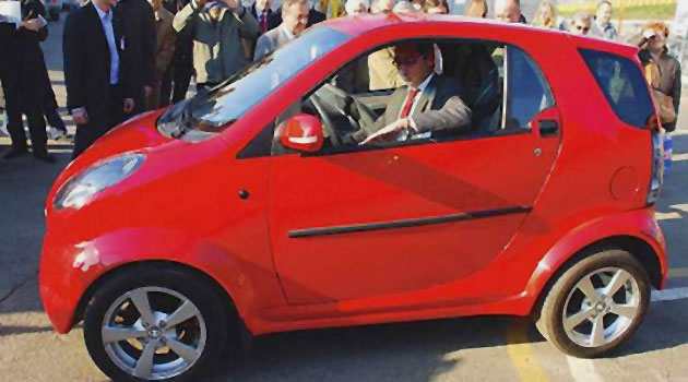 Shuanghuan's Bubble at the 2007 Bologna Motor Show