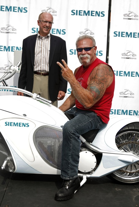 Siemens' Smart Chopper, built by Orange County Choppers [via Wired]