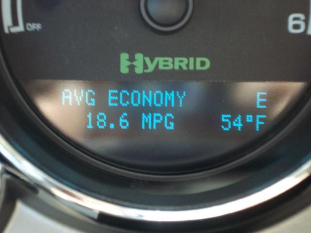 Silverado Hybrid Info Display