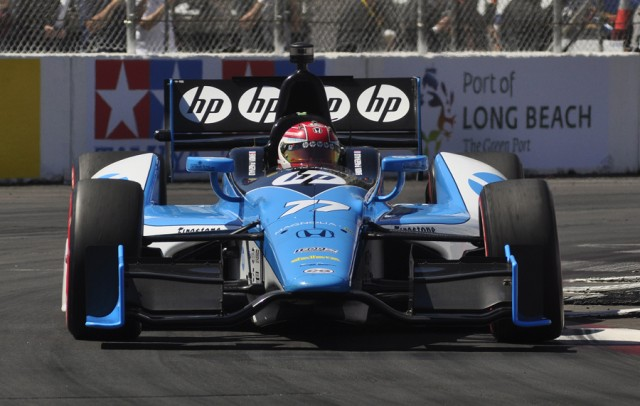 Simon Pagenaud - Anne Proffit photo