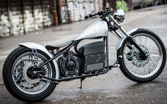 Will Victory Beat Harley Davidson With First Electric