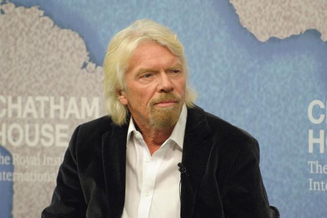 Sir Richard Branson (photo by Flickr user Stemoc)