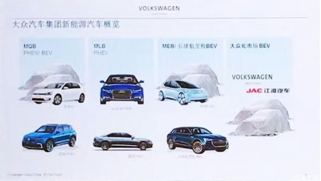 Vw Group Plans 8 Plug In Electric Cars For China