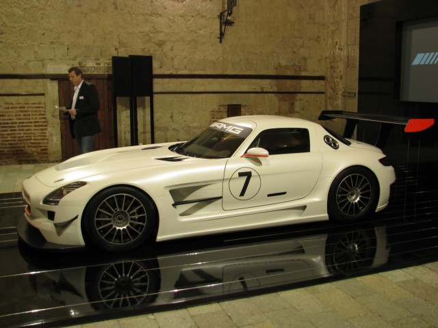 SLS AMG GT3 race car world premiere