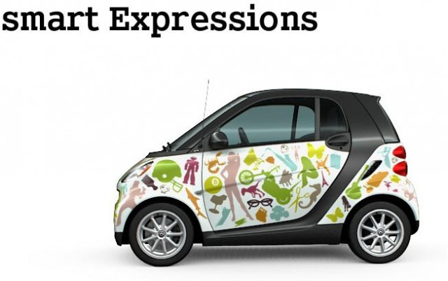 Smart Expressions vinyl-wrap option - graphic pattern