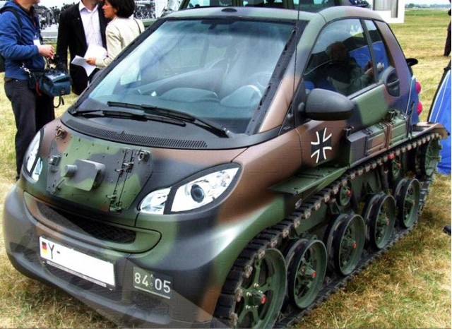 Smart ForTwo tank