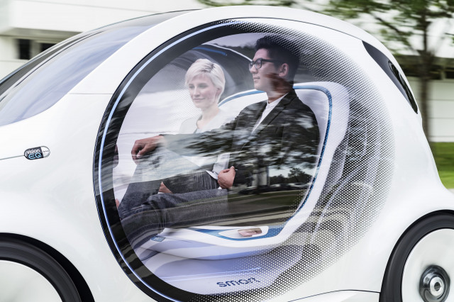 Self-driving Smart wants to set you up
