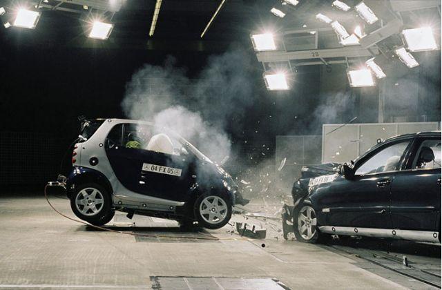 Smart crash test
