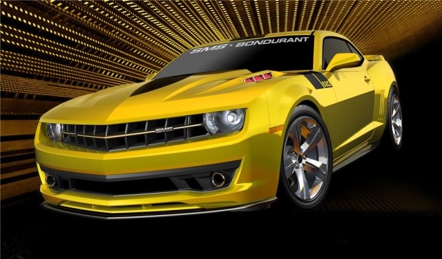 SMS-Bondurant Camaro for charity auction