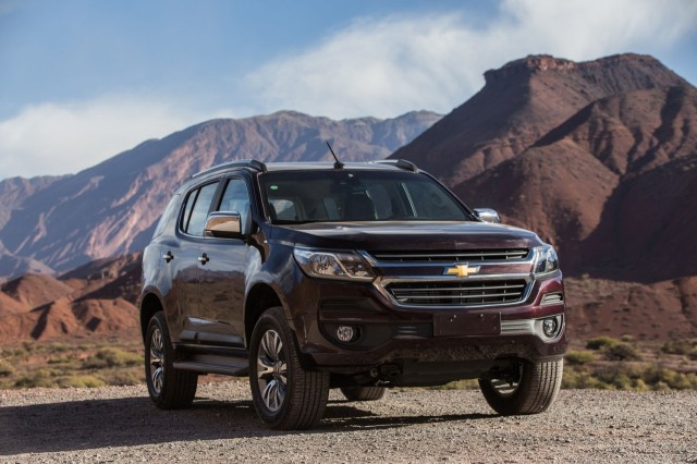 South American market Chevrolet Trailblazer